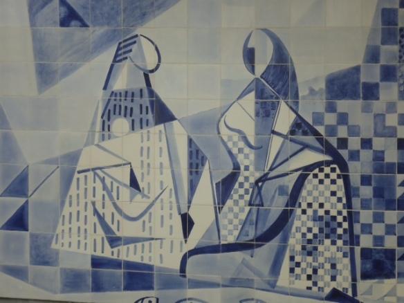 Um gostinho do painel de Burle Marx, no IMS
